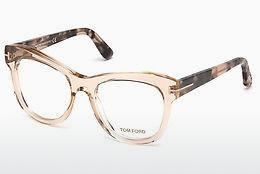 Brille Tom Ford FT5463 045 - Braun, Bright, Shiny