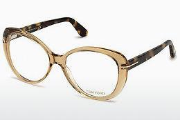 Brille Tom Ford FT5492 045 - Braun, Bright, Shiny