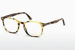 Brille Tom Ford FT5505 053 - Havanna, Yellow, Blond, Brown