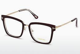 Brille Tom Ford FT5507 071 - Burgund, Bordeaux