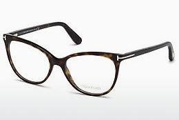 Brille Tom Ford FT5513 052 - Braun, Dark, Havana