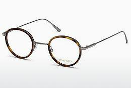 Brille Tom Ford FT5521 053 - Havanna, Yellow, Blond, Brown