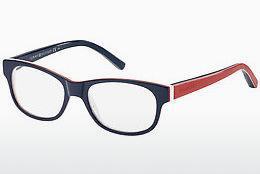 Brille Tommy Hilfiger TH 1075 UNN - Blau, Rot