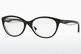 Brille Vogue VO2962 W827 - Schwarz, Transparent