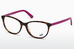 Brille Web Eyewear WE5214 053 - Havanna, Yellow, Blond, Brown