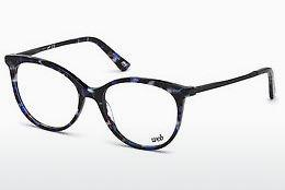 Brille Web Eyewear WE5238 090 - Blau, Shiny
