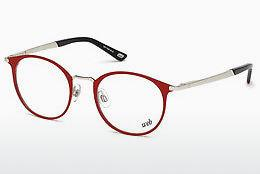 Brille Web Eyewear WE5242 066 - Rot, Shiny