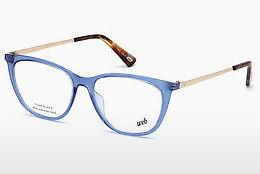 Brille Web Eyewear WE5254 084 - Blau, Azure, Shiny