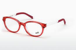 Brille Web Eyewear WE5264 066 - Rot, Shiny