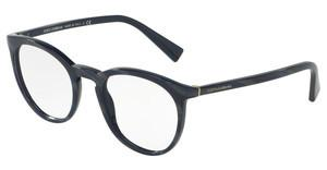 Dolce & Gabbana DG3269 3092 STRIPED GREY ON BLUE