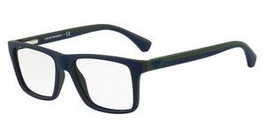 Emporio Armani EA3034 5615 TOP BLUE ON GREEN RUBBER