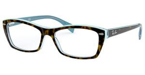 Ray-Ban RX5255 5023 TOP HAVANA ON HAVANA BLUE