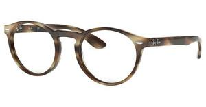 Ray-Ban RX5283 5775 HORN BEIGE BROWN
