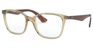 Ray-Ban RX7066 5770 TRASPARENT BEIGE
