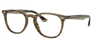 Ray-Ban RX7159 5749 BROWN GREY STRIPPED