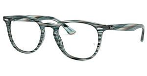 Ray-Ban RX7159 5750 BLUE GREY STRIPPED
