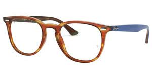 Ray-Ban RX7159 5799 LIGHT BROWN HAVANA