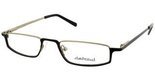 Detroit UN452 03 matt black-matt gold
