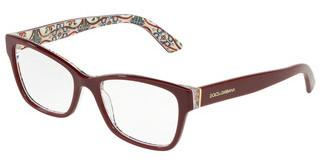 Dolce & Gabbana DG3274 3179 BORDEAUX ON NEW MAIOLICA