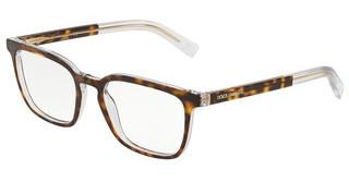 Dolce & Gabbana DG3307 757 TOP HAVANA ON CRYSTAL