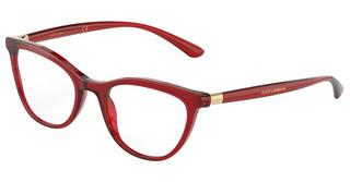 Dolce & Gabbana DG3324 550 TRANSPARENT RED
