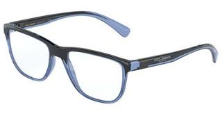 Dolce & Gabbana DG5053 3258 TRANSPARENT BLUE/BLACK