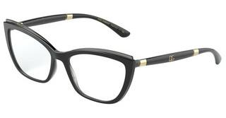 Dolce & Gabbana DG5054 3246 BLACK ON TRANSPARENT GREY
