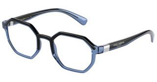 Dolce & Gabbana DG5068 3258 TRANSPARENT BLUE/BLACK