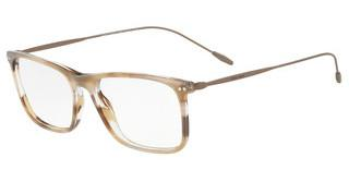 Giorgio Armani AR7154 5660 STRIPED BROWN