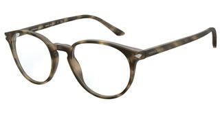Giorgio Armani AR7176 5772 MATTE STRIPED BROWN