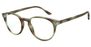 Giorgio Armani AR7176 5773 MATTE STRIPED GREEN