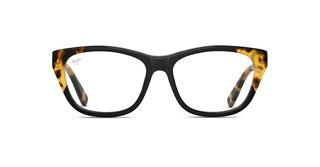 Maui Jim MJO2401 67SF Black with Yellow Tokyo Tortoise with Sea Fan Core