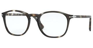 Persol PO3007VM 1124 STRIPED BROWN/CRYSTAL