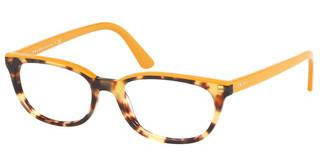 Prada PR 13VV 4741O1 MEDIUM HAVANA/YELLOW