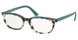 Prada PR 13VV 4751O1 SPOTTED BROWN OPAL/GREEN