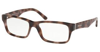 Prada PR 16MV 5201O1 SPOTTED DARK BROWN