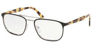 Prada PR 54XV 5241O1 TOP MATTE BLACK ON SILVER