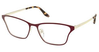 Prada PR 60XV 5521O1 TOP BORDEAUX/PALE GOLD