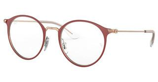 Ray-Ban Junior RY1053 4077 MATTE BORDEAUX ON ROSE GOLD
