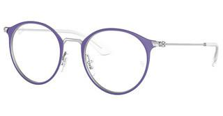 Ray-Ban Junior RY1053 4079 MATTE PURPLE ON SILVER