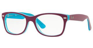 Ray-Ban Junior RY1528 3763 BLUE TRASP ON TOP FUXIA