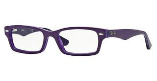Ray-Ban Junior RY1530 3589 TOP VIOLET ON VIOLET TRANSP