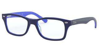 Ray-Ban Junior RY1531 3839 BLUE ON TRANSPARENT LIGHT BLUE