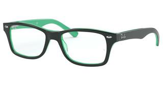 Ray-Ban Junior RY1531 3841 GREEN ON TRANSPARENT GREEN
