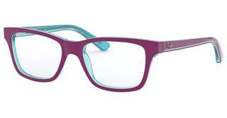 Ray-Ban Junior RY1536 3763 TRASP AZURE ON TOP FUXIA