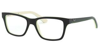 Ray-Ban Junior RY1536 3820 TOP BLACK ON WHITE/GREEN