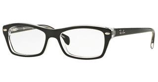 Ray-Ban Junior RY1550 3529 TOP BLACK ON TRANSPARENT