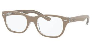 Ray-Ban Junior RY1555 3851 BEIGE ON TRANSPARENT