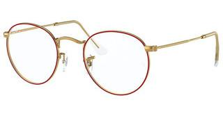 Ray-Ban RX3447V 3106 RED ON LEGEND GOLD