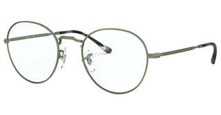 Ray-Ban RX3582V 3073 SAND TRANSPARENT GREEN